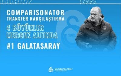 Comparisonator Transfer Karşılaştırması – Dört Büyükler Mercekte: Galatasaray #1