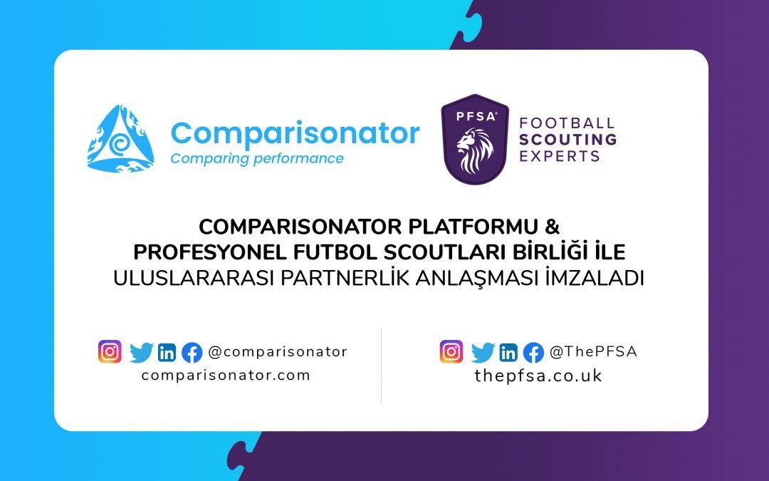 Comparisonator & PFSA Partnerlik Anlaşması İmzaladı