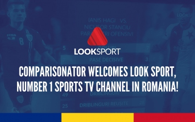 Comparisonator Welcomes Look Sport, Number 1 Sports Channel in Romania!