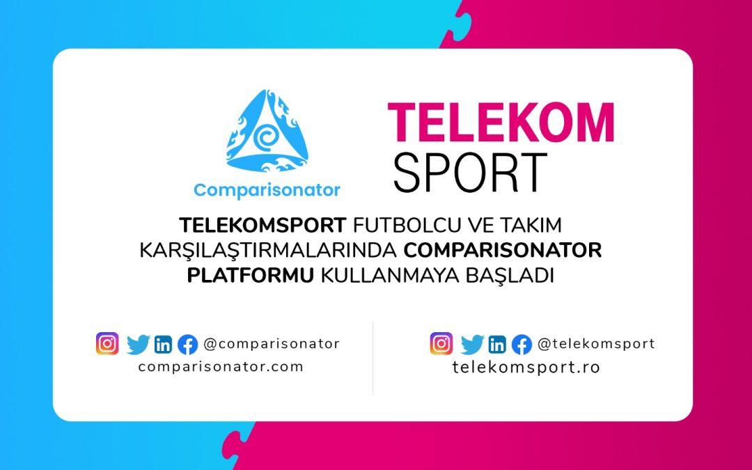 Türkiye'nin Comparisonator'u Romanya Telekom TV'ye Porföyümüze Hoş Geldiniz Diyor, Türk İhracatına Katkıda Bulunmaya Devam Ediyor!
