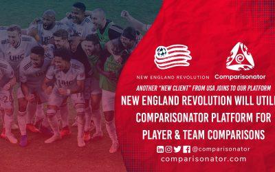 Comparisonator Welcomes New England Revolution