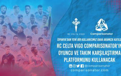 Comparisonator, RC Celta Vigo'ya Hoş Geldin Diyor!