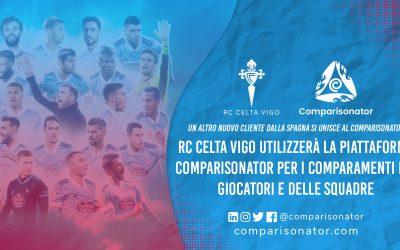 Comparisonator da il benvenuto al RC Celta Vigo