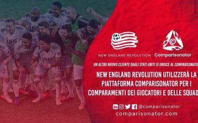 Comparisonator da il Benvenuto a New England Revolution
