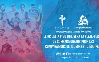 Comparisonator accueille la RC Celta Vigo