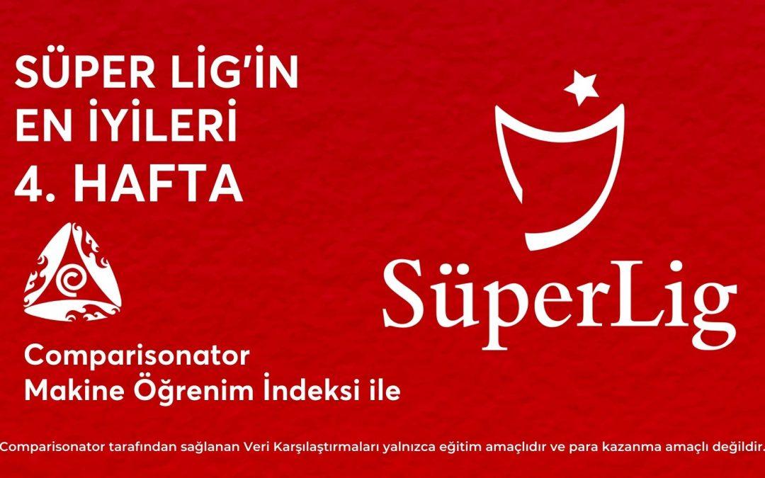 Süper Lig'in En İyileri – 4. Hafta