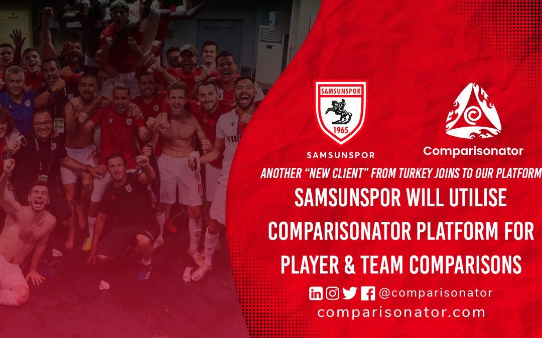 Comparisonator Welcomes Samsunspor