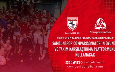 Comparisonator, Samsunspor'a Hoş Geldin Diyor!